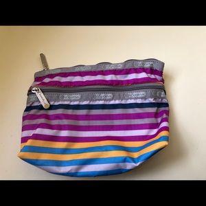 Striped Lesportsac Bag